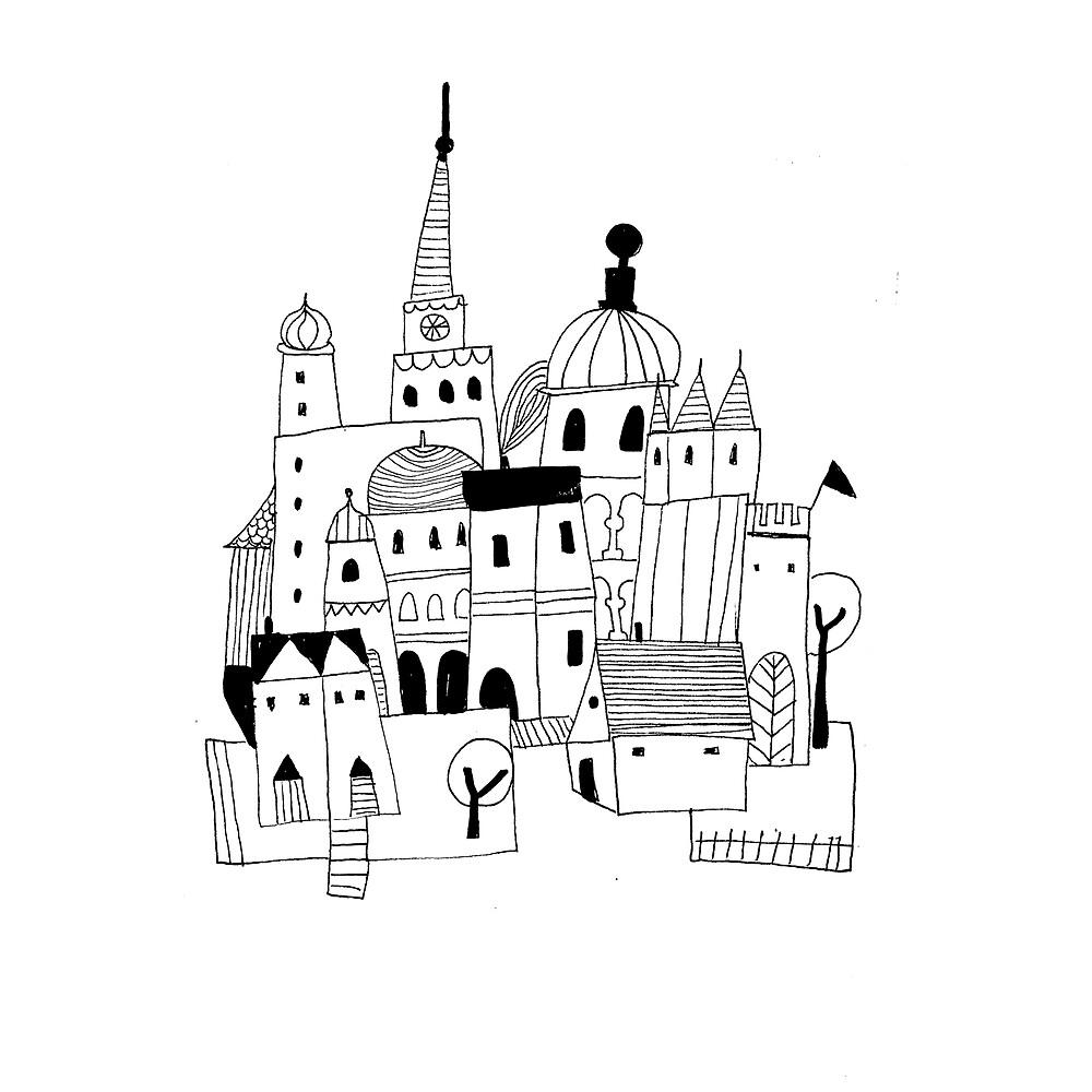 « The Village » par Mireille  Marchand