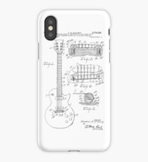 Guitar patent from 1955 iPhone Case/Skin