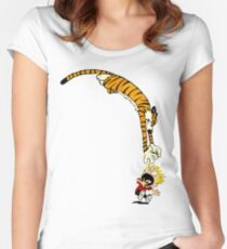 Pounce Women's Fitted Scoop T-Shirt