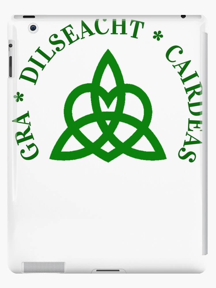 Gaelic Irish T Shirt Friendship Loyalty Love Celtic Knot Ipad