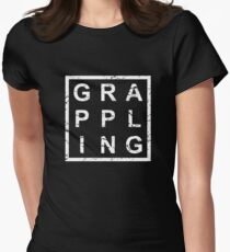 Stylish Grappling Women's Fitted T-Shirt