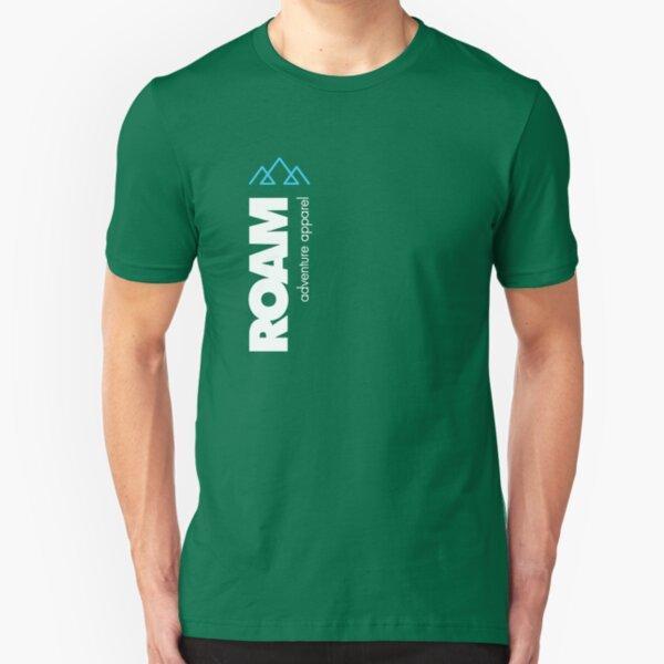 ROAM Apparel Vert Mountain Logo Slim Fit T-Shirt