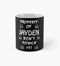 Property of Jayden Mug