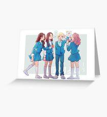 Love & Live Greeting Card