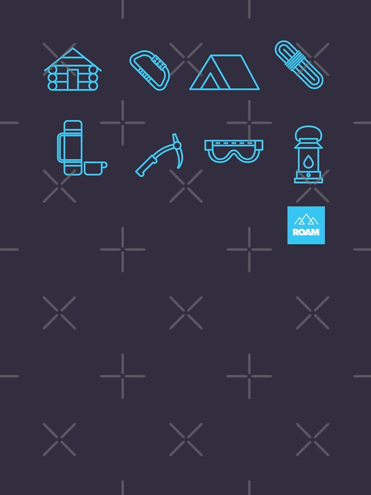 Mountaineering Icons by jpburdett