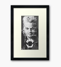 The Lost Boys Framed Print