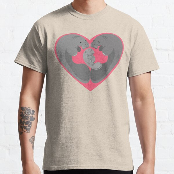 Love Manatees - Protect What You Love Classic T-Shirt