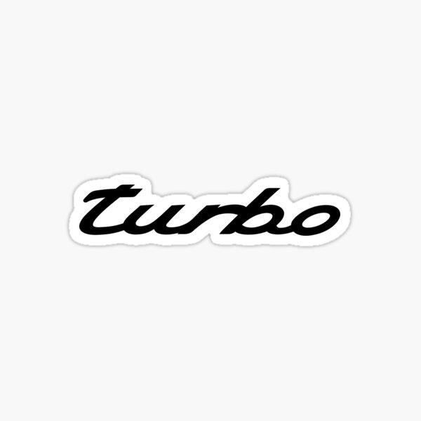Porsche Turbo Sticker