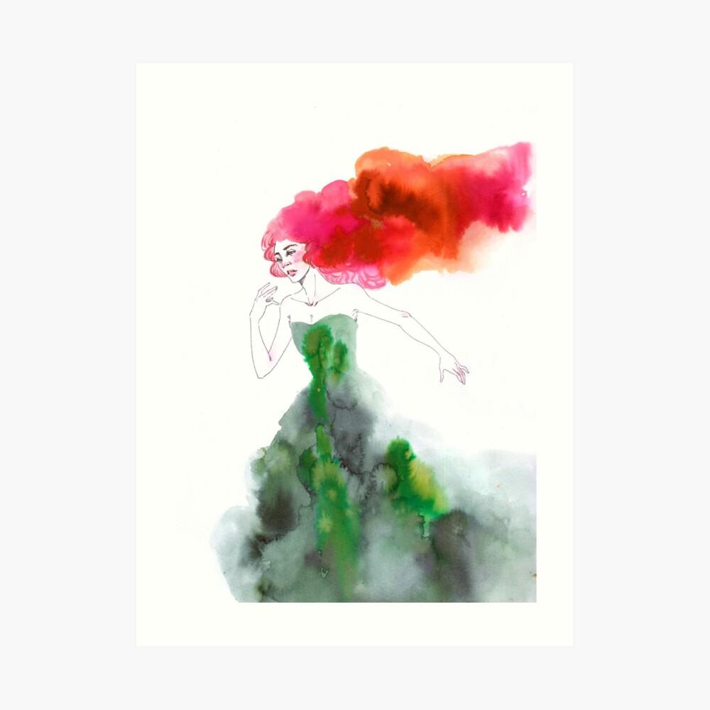 Fleeing the Fairytale Art Print