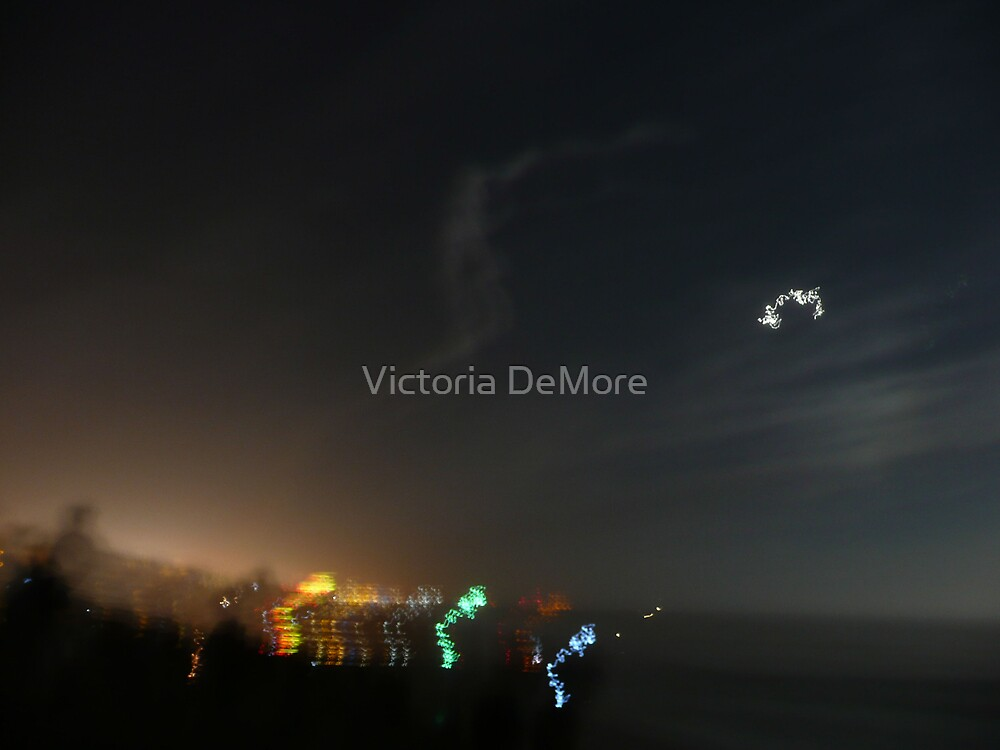 Long Exposure Trajectory Remnants by Victoria DeMore