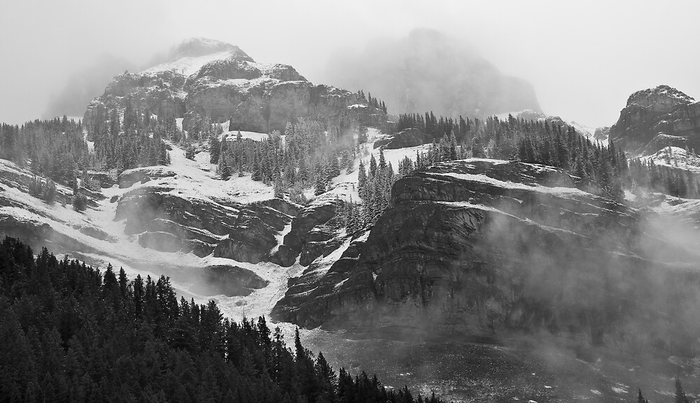 First snow by Mark Houtzager