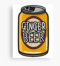 Ginger Beer Canvas Print