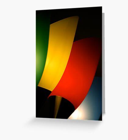 Contemporary Lighting Greeting Card