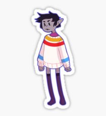Marshall lee Sticker