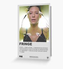 Fringe Minimalist Poster  Greeting Card