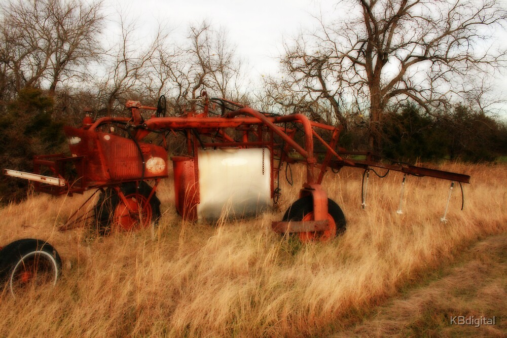 Old Farm Equiptment by KBdigital