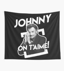 Johnny On T'aime Wall Tapestry