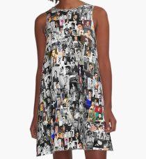 Elvis presley collage A-Line Dress