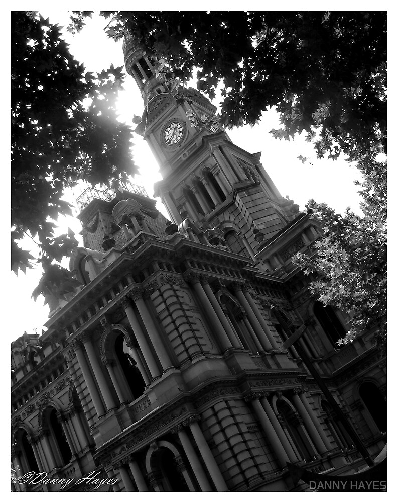 SYDNEY TOWN HALL WITH A TWIST by DANNY HAYES