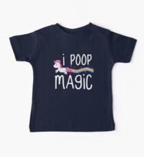 I Poop Magic Baby Tee
