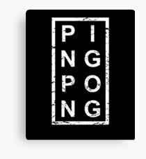 Stylish Ping Pong Canvas Print