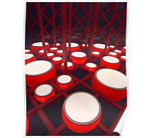 Red Drums Poster