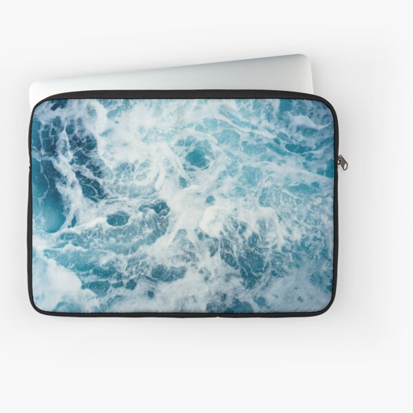 Sea Waves in the Ocean Laptop Sleeve