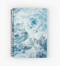 Cuaderno de espiral Olas del mar en el océano