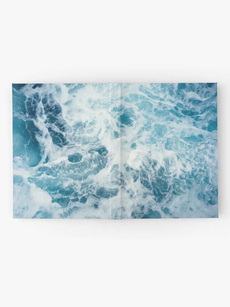 Alternate view of Sea Waves in the Ocean Hardcover Journal