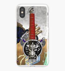 Fusion Keyblade Guitar #2 - Fenrir & Fusion Sword iPhone Case/Skin
