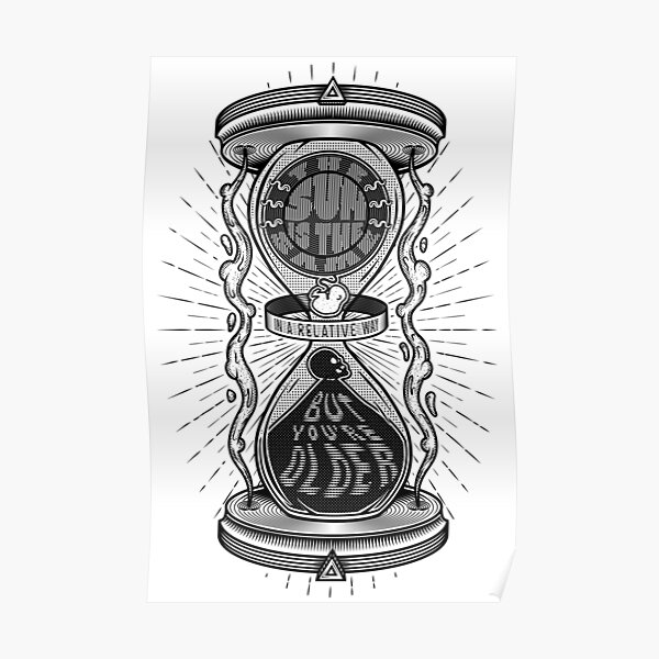 Relativity of Time (light) Poster