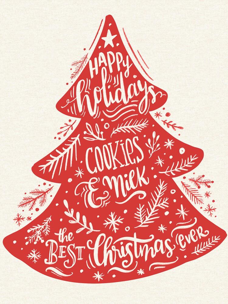 Christmas Pattern - Happy Holidays! by mirunasfia