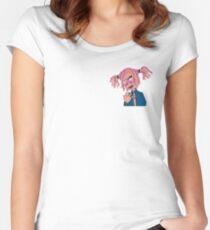 Lil Pump Cartoon Women's Fitted Scoop T-Shirt