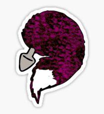 foxtail purple Sticker