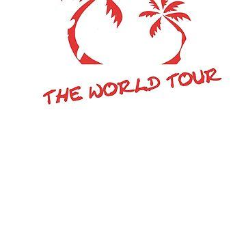 """DJ Roomba """"World Tour"""" Merch T-Shirt by MattsStuff"""