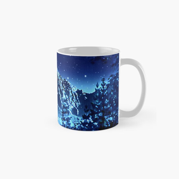 winter night  Classic Mug