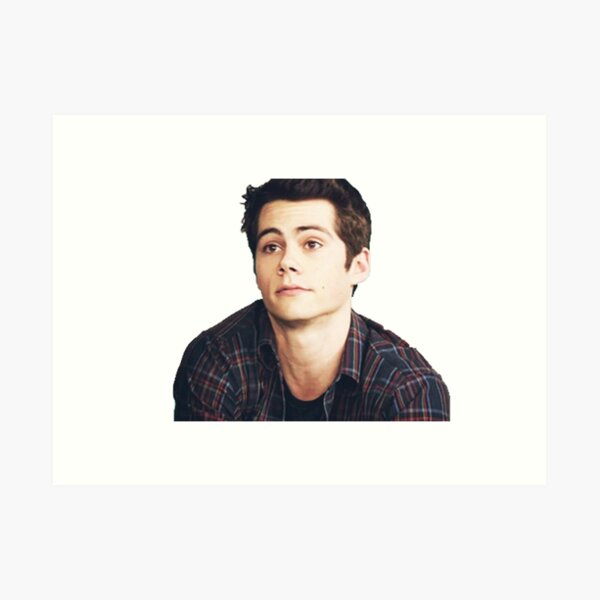 Dylan O'Brien is a puppy Art Print