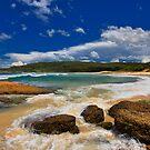 Fraser Park Beach by Mark Snelson