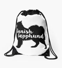 Finnish lapphund Drawstring Bag