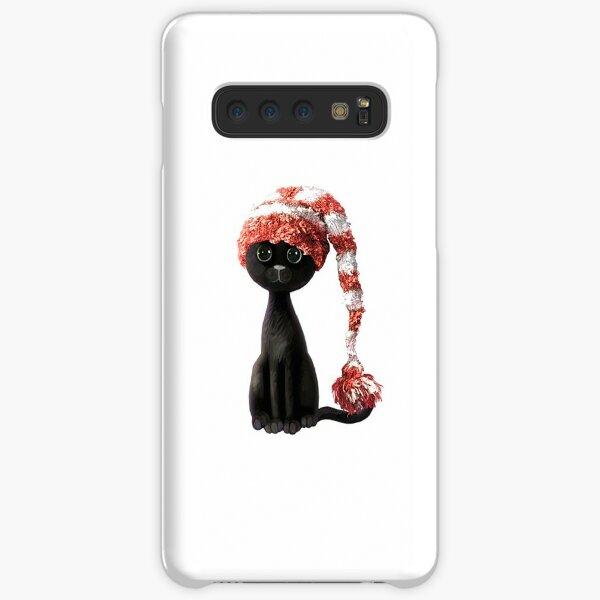 Sad Christmas Kitty Samsung Galaxy Snap Case