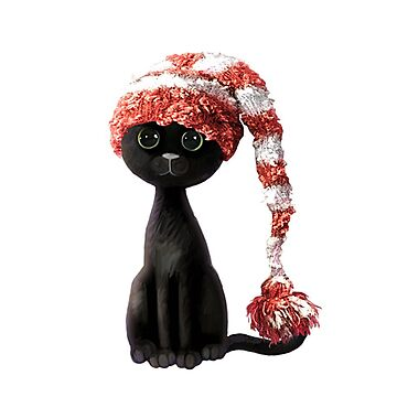 Sad Christmas Kitty by ibjennyjenny