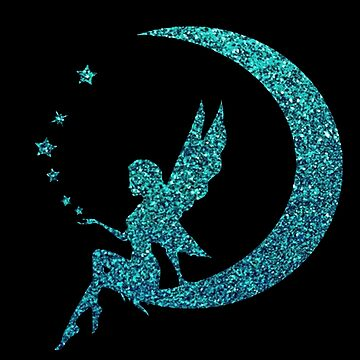 Blue Glitter Moon Fairy by NicholiCosplay