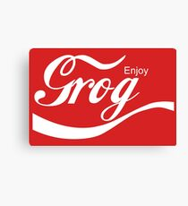 Enjoy Grog Canvas Print