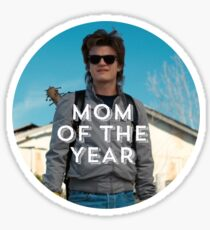 Mom of the Year Sticker