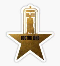 Doctor Who - Hamilton Crossover Sticker