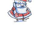 Santa Sketchbook Version by CS Jennings