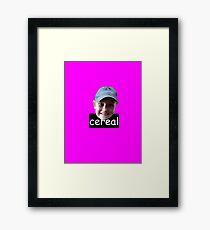 CEREAL! Framed Print