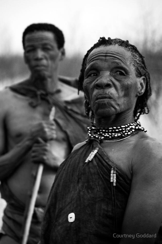 The Khoi-San of the Kalahari by Courtney Goddard