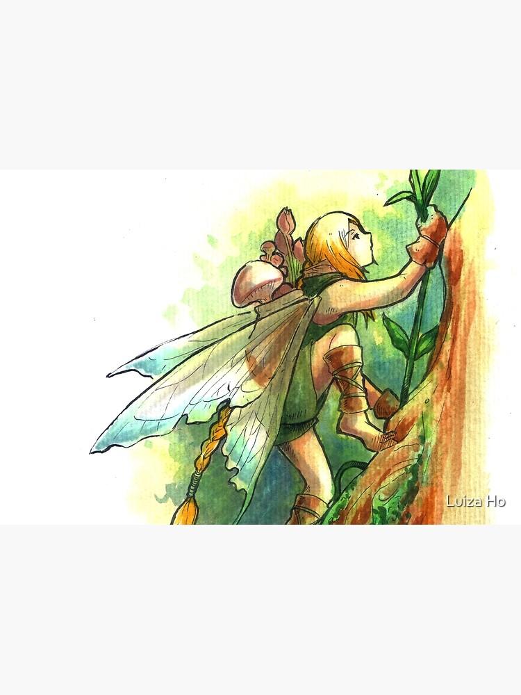 The Climb Fairy by teapotsandhats