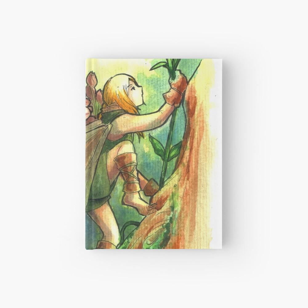 The Climb Fairy Hardcover Journal